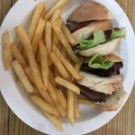 Roast Beef (daily special) Cutter + French Fries Side