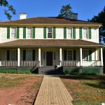 This is the home of A. H. Stephens. Unfortunately, it is closed on Mon - Thursday. It is well ke