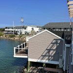 View of Tidal Suites from the Lobster House