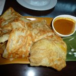 Roti - not a fluffy as in other Malaysian restaurants