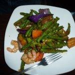 Okra, Eggplant & Green Bean Trio in Sambal Chilli