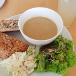 Soup, Salad & Sandwich lunch