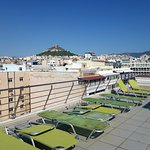 View from the rooftop to Lycabettus
