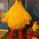 Big Bird, a Sesame Street legend