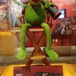 Possibly the most famous puppet in the world!