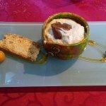 Crème fouettée à la crème de marron
