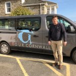 Tim Uff ready to share his love of Cornwall with guests.