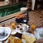 Le petit déjeuner de rêve du matin