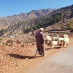 La découverte des habitants des villages