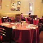 Simple dining area