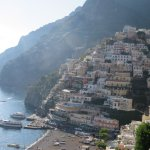 Positano from the road above