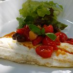 Sea bass for lunch at Hotel Palazzo Murat