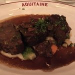 Boeuf bourguignon - so tender you don't need a knife.