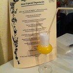 Taster menu with sorbet