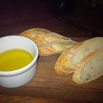 Super soft fresh bread with olive oil instead of butter for me