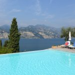 Infinity-Pool des Hotels