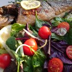Fresh and local grilled fish