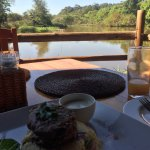this is at the hippo haunt restaurant, 20 minute walk or 10-minute drive away