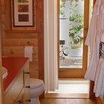 Skylit Indoor Bathroom