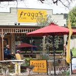 Exterior view of Fraga's