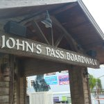 John's pass boardwalks and pier ................................................?...............