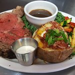 Prime Rib Dinner @ the Guaranty Café