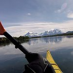 Kayak en Patagoniaの写真