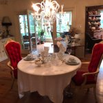 Tea Room for special meals and events.