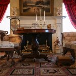 The family parlor of the Mary Todd Lincoln House