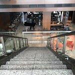 Escaleras para el Bar