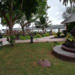 Clean, well maintained grounds leading out to the beach