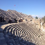 Greek Amphitheater Foto