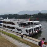 Our ship for the Li river cruise