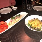 shrimp and lobster, cooked