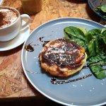 Cappuchino and Bacon&Cheese Tarte
