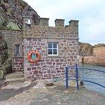 The old tide gauge built by the Ordnance Survey