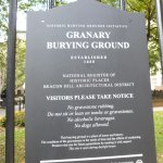 Granary Visitors notice