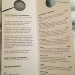 A...er...detox menu. Literally, detox shots. By needle. Ew.