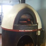 Old wood fired oven.