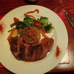 Classic Pepper steak w/ Boulangere poatoes
