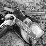 Ashanti Coffee Key Tag