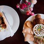 pita sandwich & platter