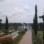 At Brindavan Garden.