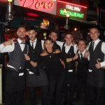 The wonderful staff at Costa D'Oro, Surface Paradise