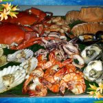 New price update: SEAFOOD PLATTER (good for 2 PERSONS) @ 1,500Php (750/person)= 1 platter