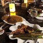 Seafood BBQ Dinner