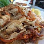 Spicy Thai Basil Noodles