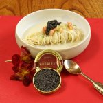 The new specialty in house - Koroleva Caviar, all the way from russia, flown in just for us