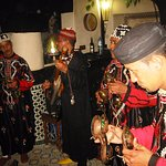 Gnawa Musiciens with great dinners in Dar Najat's Kitchen-Marrakech