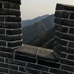 Photo de Great Wall at Jiayuguan Pass